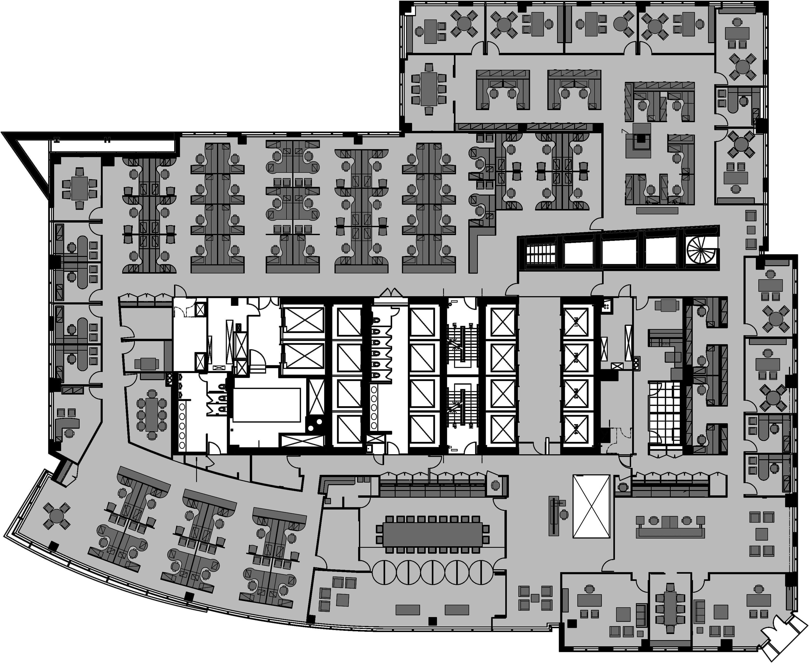 Portfolio campion platt for Office blueprints design
